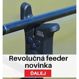 By Döme Team Feeder Elektrický feeder signalizátor záberu
