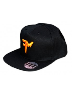 Feeder Mania Snapback Black-Orange
