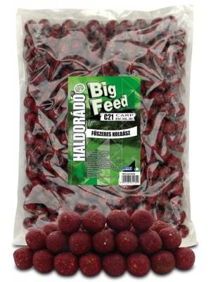 Haldorádó Big Feed - C21 Boilie 2500 g - Korenistá Klobása