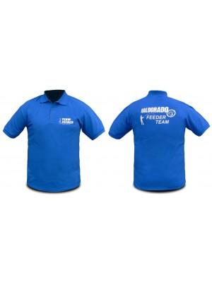 Haldorádó Feeder Team tričko s krátkym rukávom a golierom 3XL