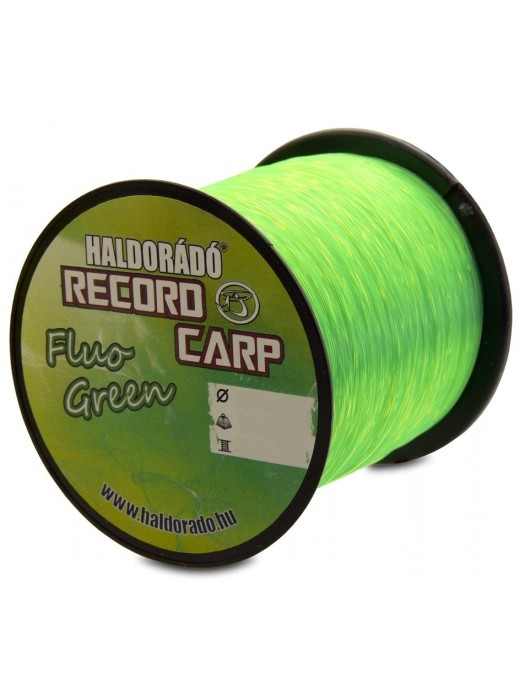 Haldorádó Record Carp Fluo Green 0,35 mm / 750 m - 13,95 kg