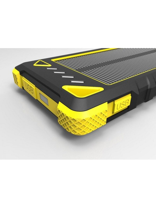 7309e8b8a752e Solárna nabíjačka na mobil 1W 8000mAh + zabudovaná LED dióda